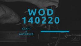 WOD 140220 Octofit