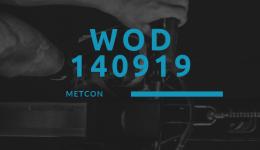 WOD 140919 Octofit Cross Loft