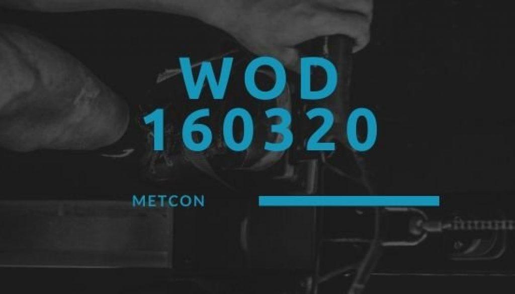WOD 160320 Octofit