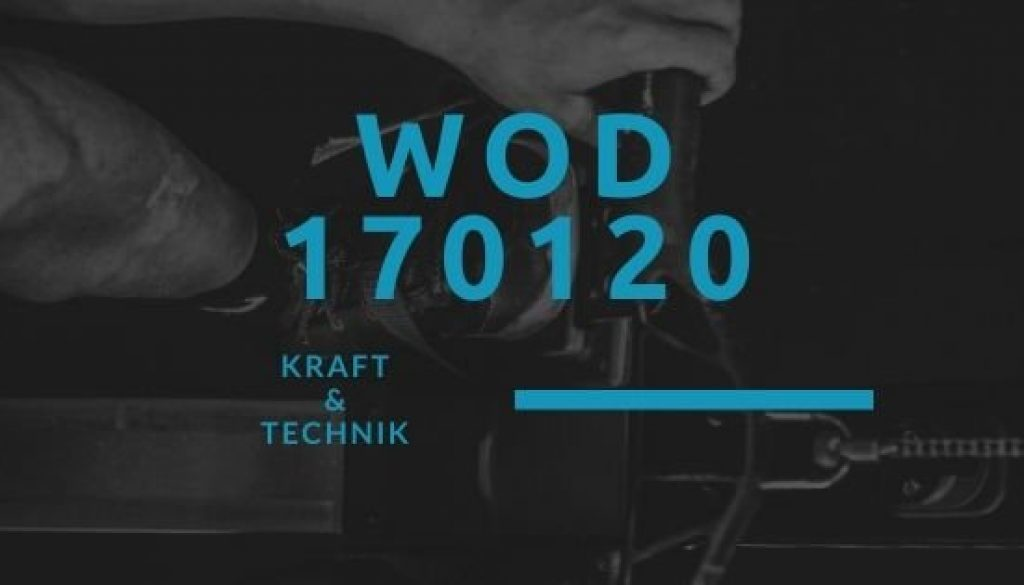 WOD 170120 Octofit