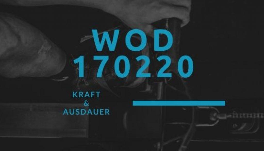WOD 170220 Octofit