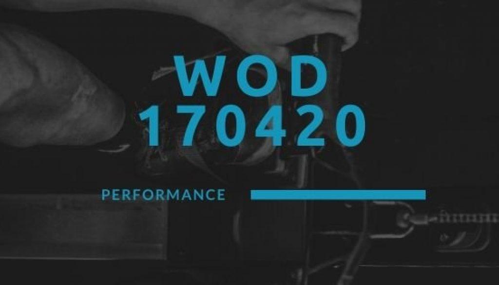 WOD 170420 Octofit