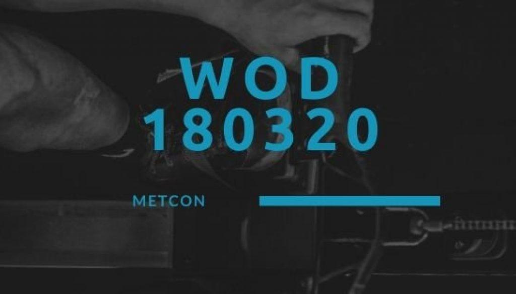 WOD 180320 Octofit