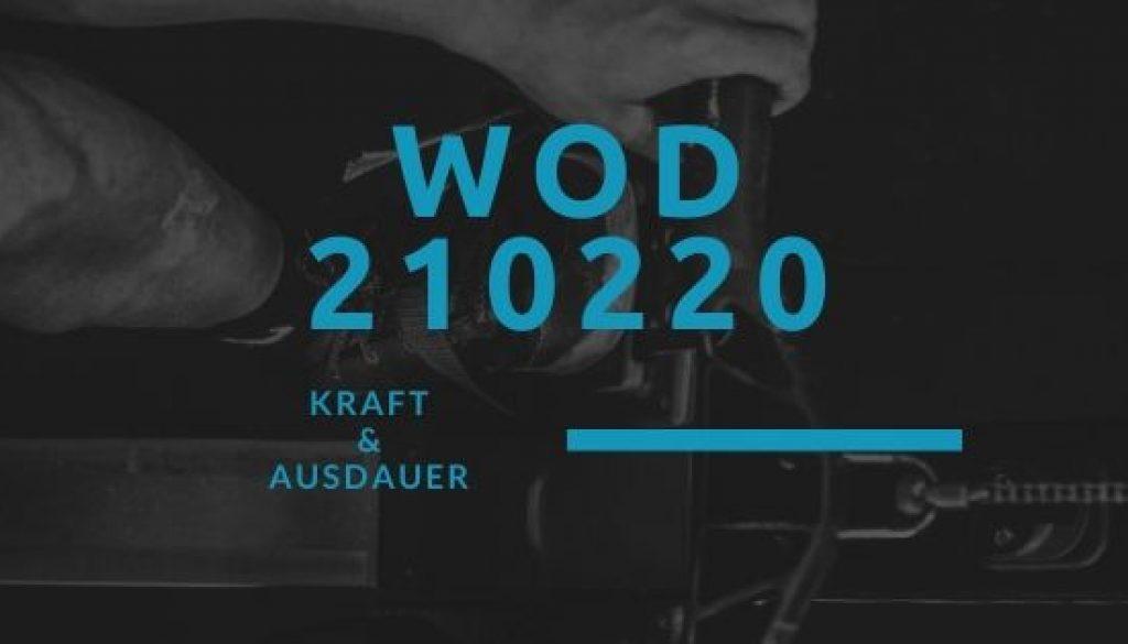 WOD 210220 Octofit