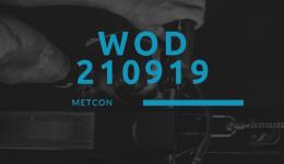 WOD 210919 Octofit Cross Loft