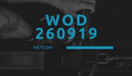 WOD 260919 Octofit Cross Loft