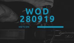 WOD 280919 Octofit Cross Loft