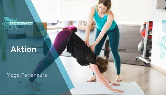 Yoga Ferienkurs Octofit Luenen
