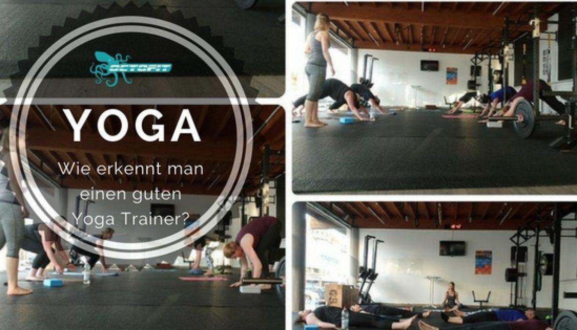 Yoga fuer Anfaenger - Octofit
